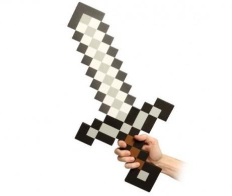 Épée en mousse Minecraft