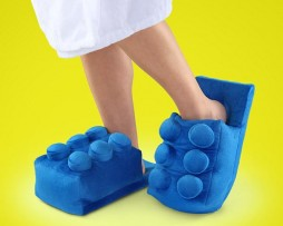 Pantoufles brique Lego