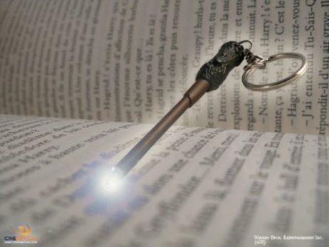 Porte-clés baguette magique Harry Potter