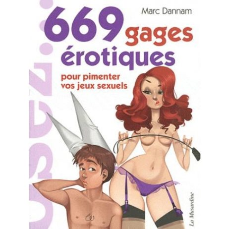 """Livre """"669 gages érotiques pour pimenter vos jeux sexuels"""""""