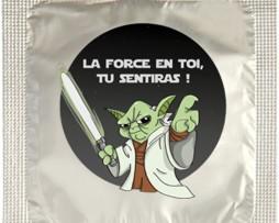Préservatif humoristique Yoda