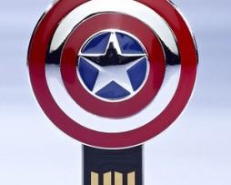 Clé USB bouclier Captain America