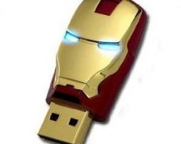 Clé USB casque Iron Man