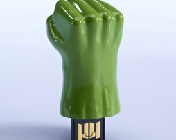 Clé USB main Hulk