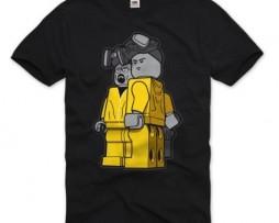 T-shirt Breaking Bad version Lego