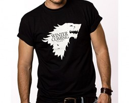 Winter-is-Coming-Start-T-Shirt-Homme-Game-of-Thrones-Noir-S-XXXL-0
