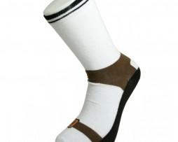 Chaussettes à imprimé sandales