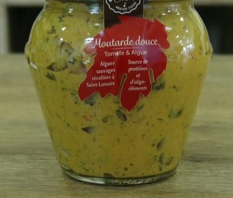 Moutarde douce tomates et algues
