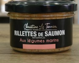 Rillettes de saumon aux légumes marins